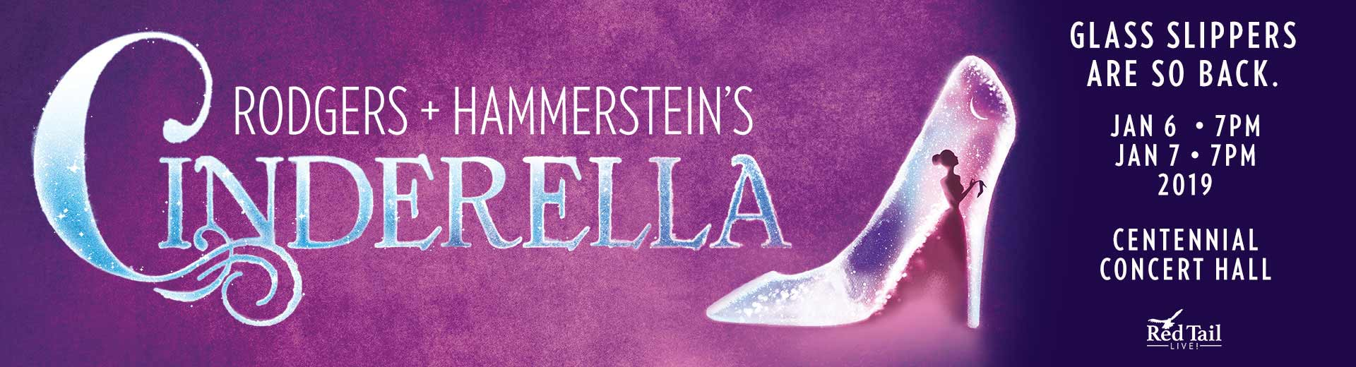 Cinderella in Winnipeg January 6-7, 2019